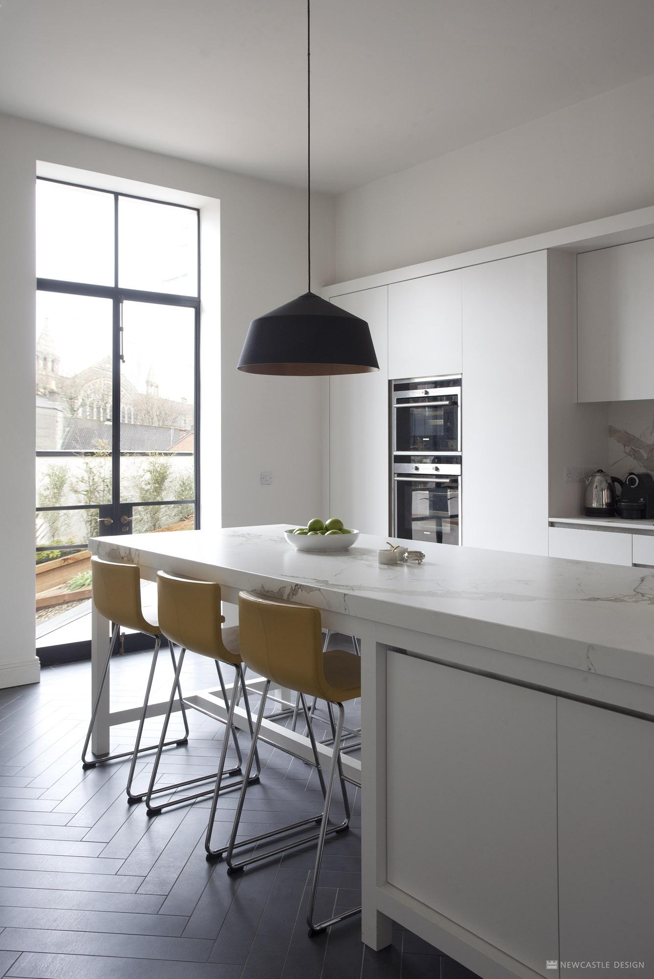 Contemporary georgian kitchen newcastle design interiors - What is contemporary design ...