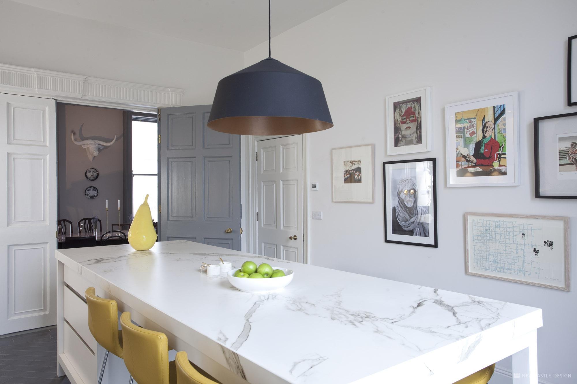 Contemporary Georgian Kitchen Newcastle Design Interiors