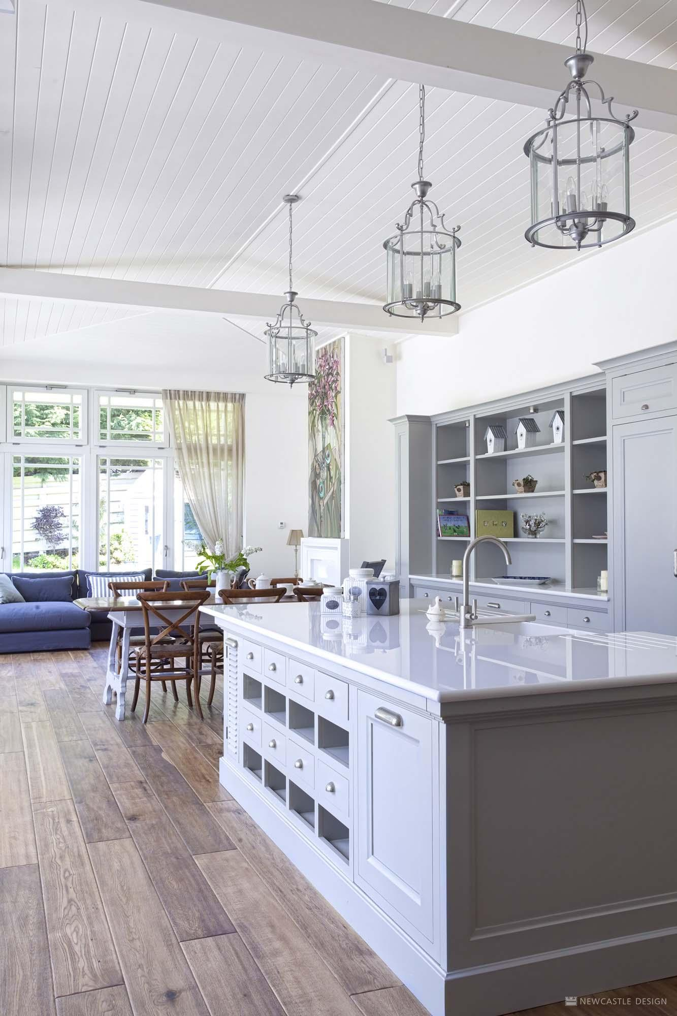 Hamptons Kitchen Design. Serenity Kitchen Elegant Design  Traditional Newcastle Interiors
