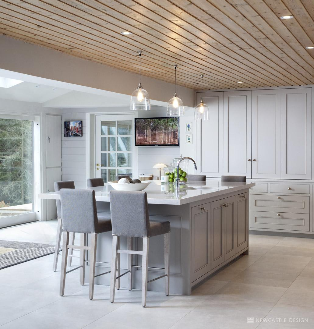 Mountain View Kitchen | Family Living Interior Design