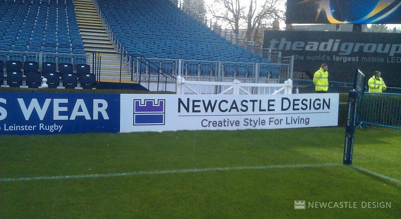Newcastle Design Sponsor Board