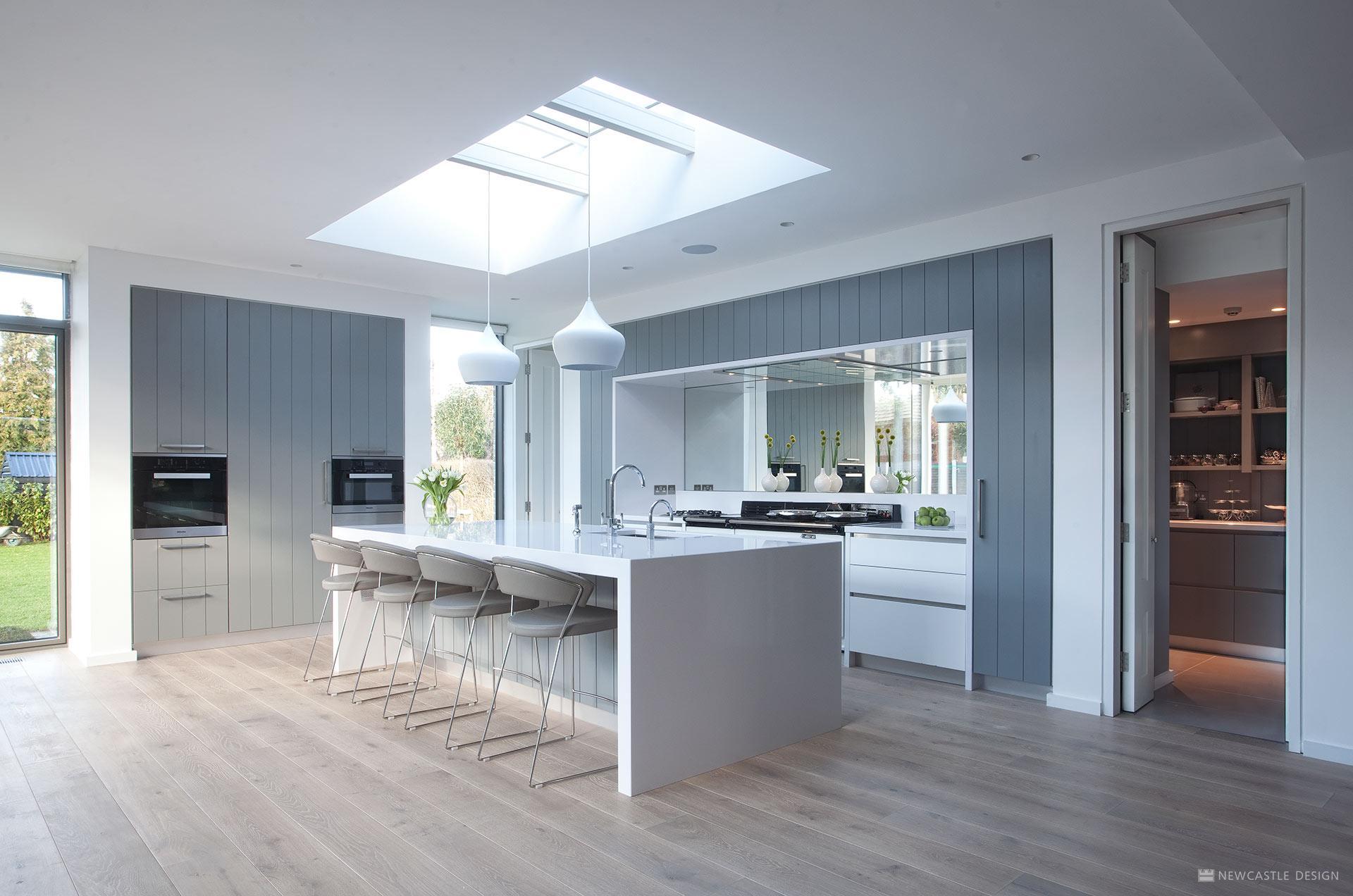 Mirror Splashback | Kitchen Mirror Natural Lighting